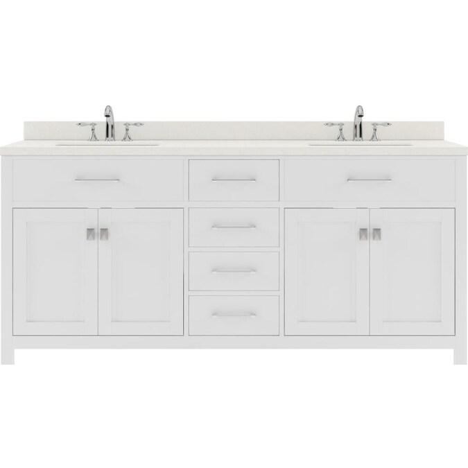 Double Sink Bathroom Vanity, 72 Inch Bathroom Vanity Top