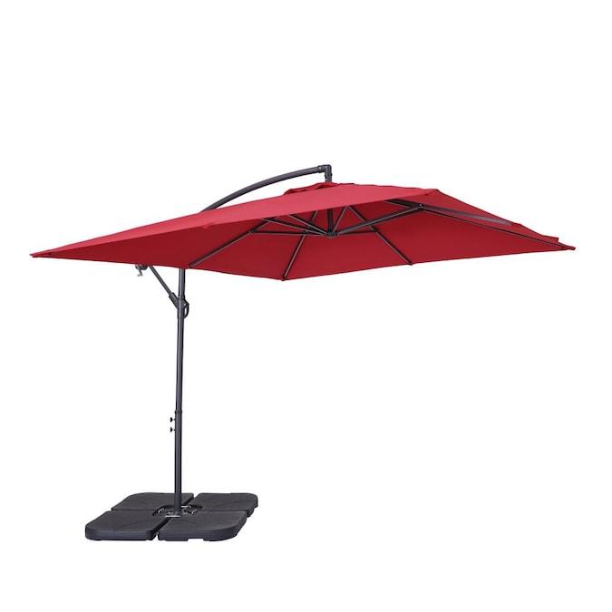 Casainc 8 5 Ft Crank Cantilever Patio, Cantilever Patio Umbrella Cover