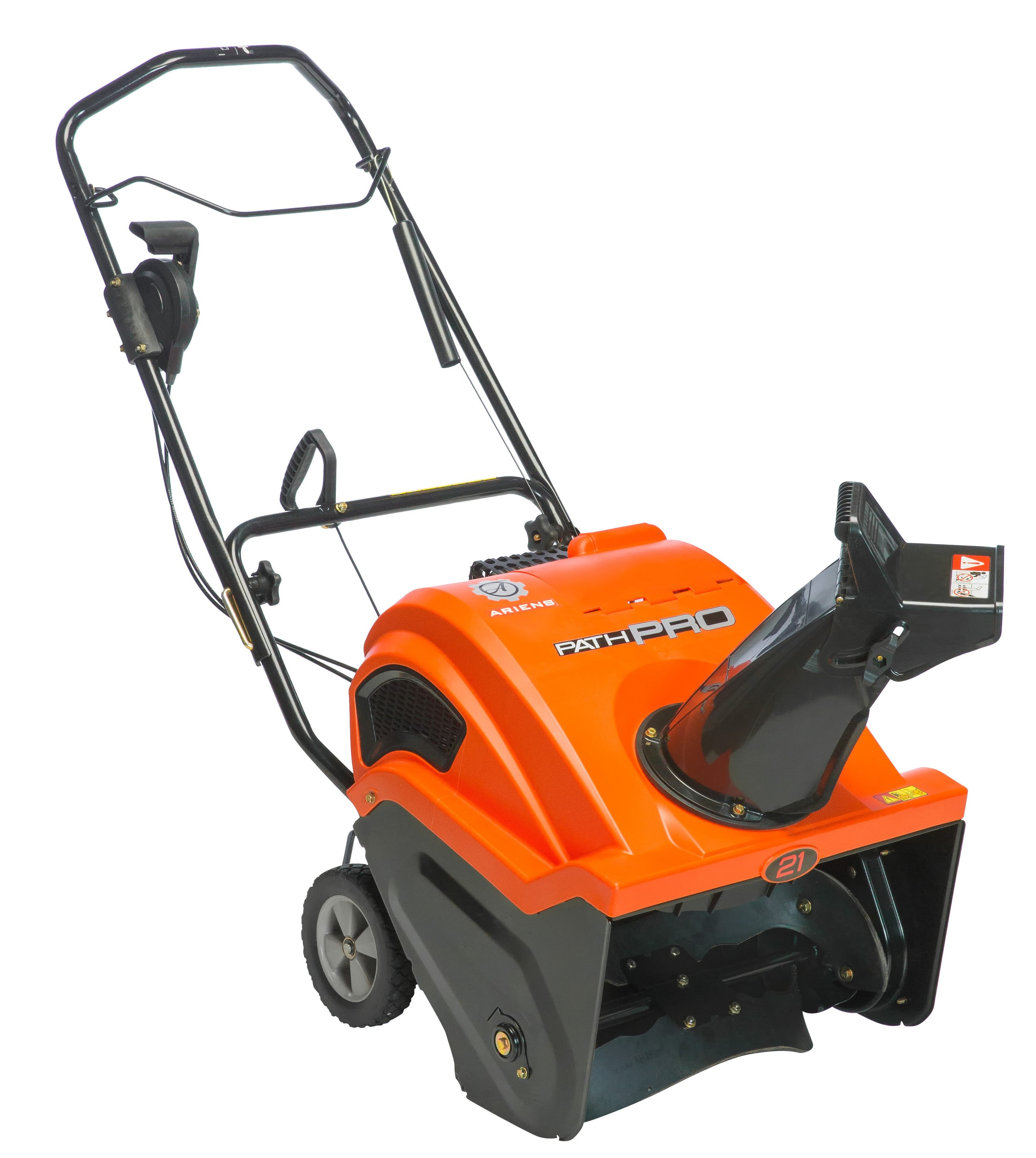 Ariens Path-Pro 21-in 208-cc Single-Stage Gas Snow Blower with Push-Button Electric Start Rubber | 938033