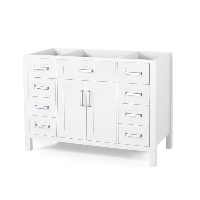 White Bathroom Vanity Cabinet, Bathroom Vanities Without Tops Sinks