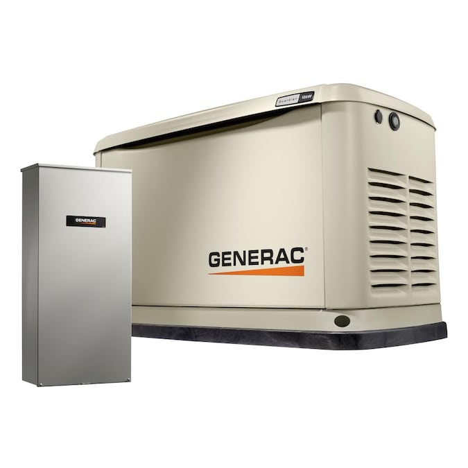 Generac Guardian 18000-Watt (LP)/17000-Watt (NG) Standby Generator with Automatic Transfer Switch in the Home Standby Generators department at Lowes.com