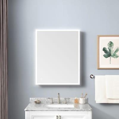 Allen Roth Landen 24 In X 30, Vanity Mirror Medicine Cabinets