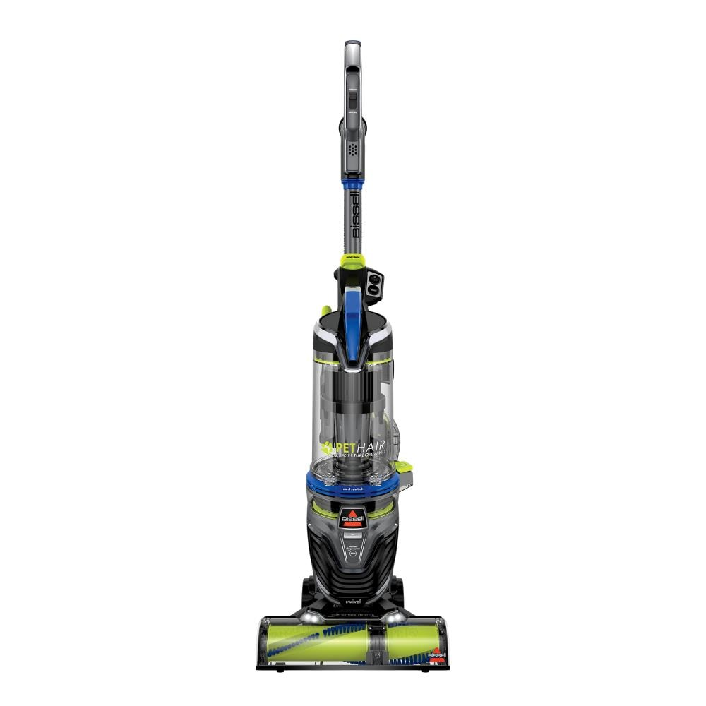 BISSELL Pet Hair Eraser Turbo Rewind Corded Bagless Upright Vacuum in Blue | 27902