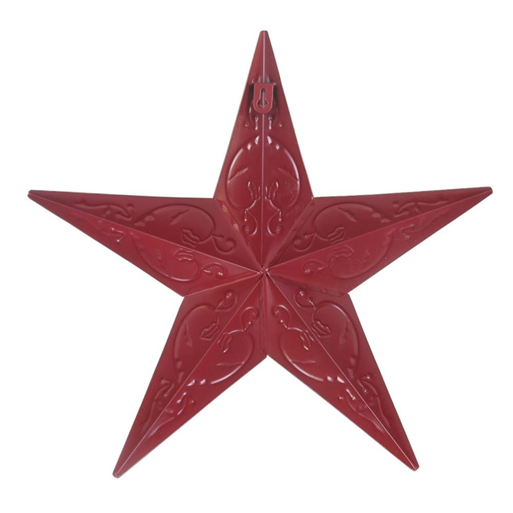 ten year star barn star anniversary gift red star license plate star metal star 10 year anniversary metal artwork North Carolina