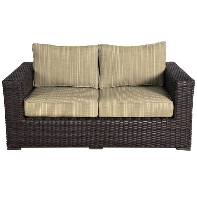 Teva Furniture Santa Monica Wicker, Bamboo Patio Furniture Cushions