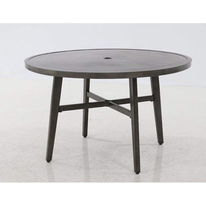 Style Selections Chantilly Round, Round Outdoor Dining Tables