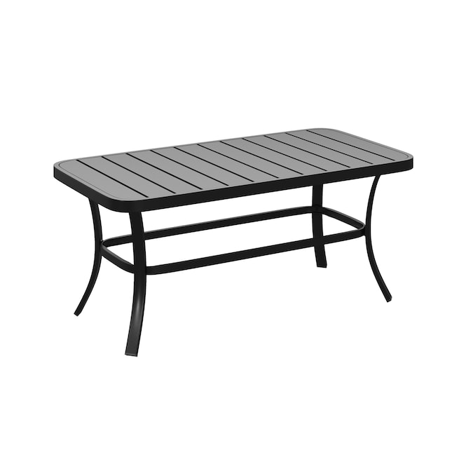 Style Selections Pelham Bay Rectangle, Round Metal Outdoor Coffee Table Canada