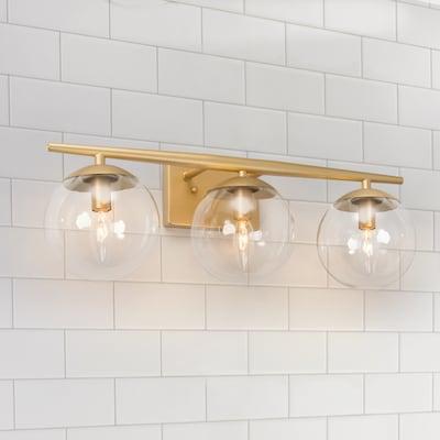 Gold Vanity Lights At Lowes Com