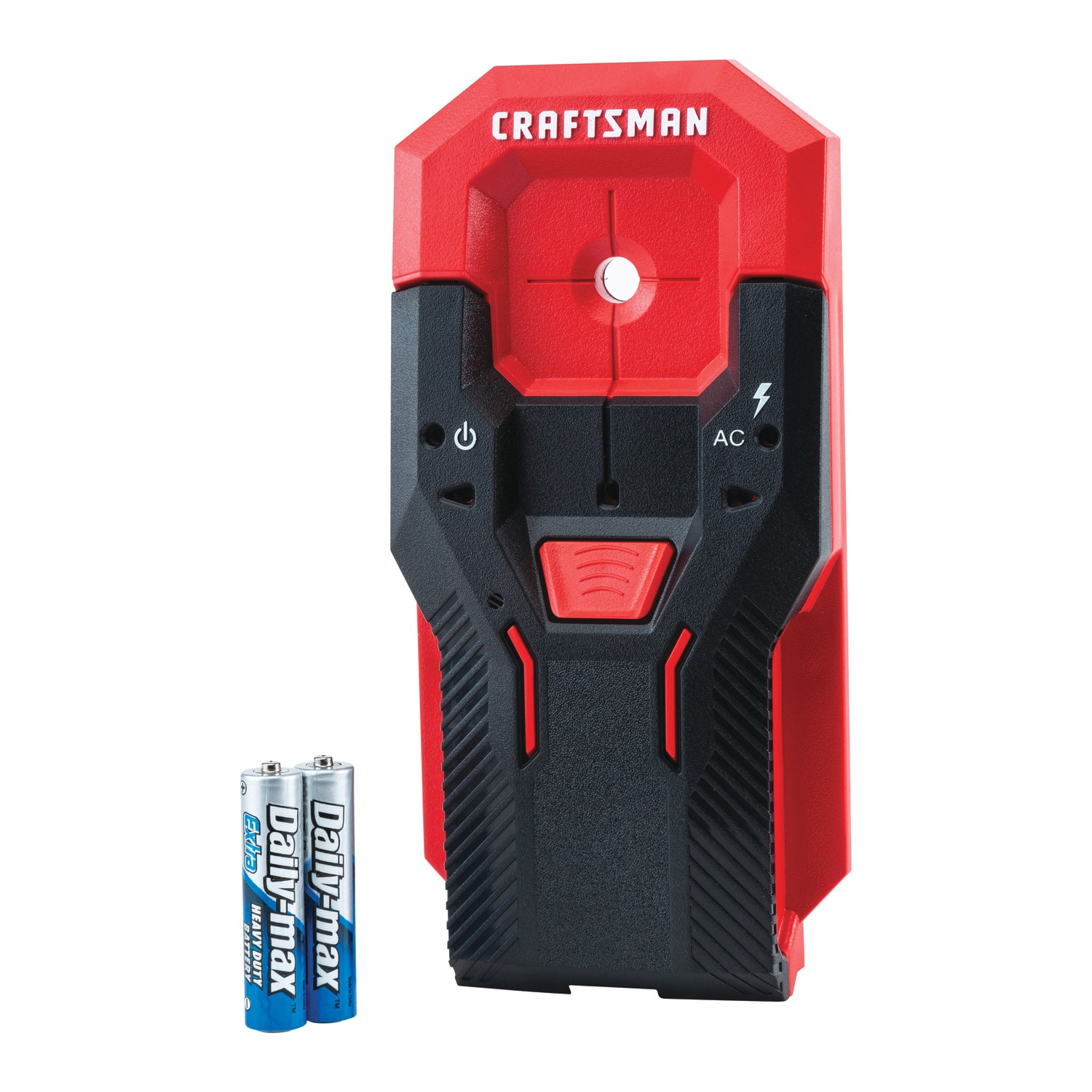 CRAFTSMAN 0.75-in Scan Depth Metal and Wood Stud Finder in Red | CMHT77620