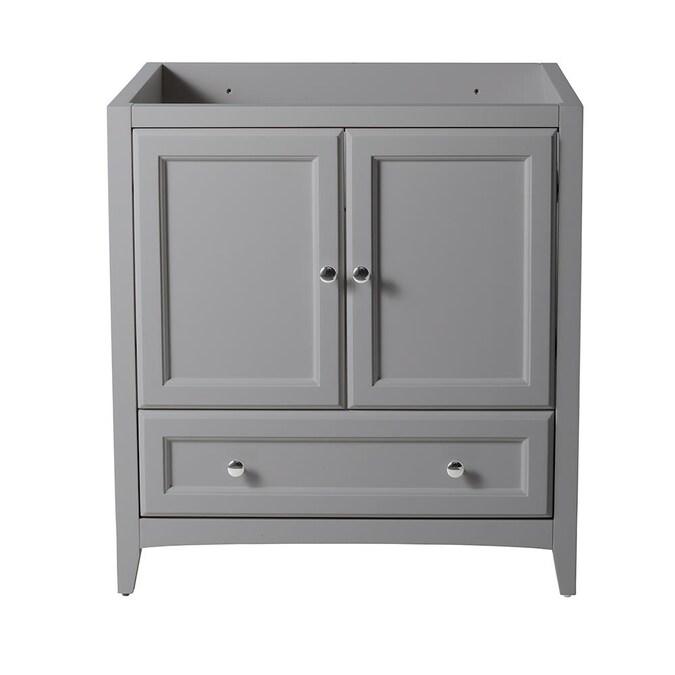 Gray Bathroom Vanity Cabinet, 30 Inch Bathroom Vanity Cabinet Only