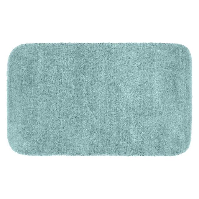 Seafoam Nylon Bath Rug, 30 X 50 Bathroom Rugs