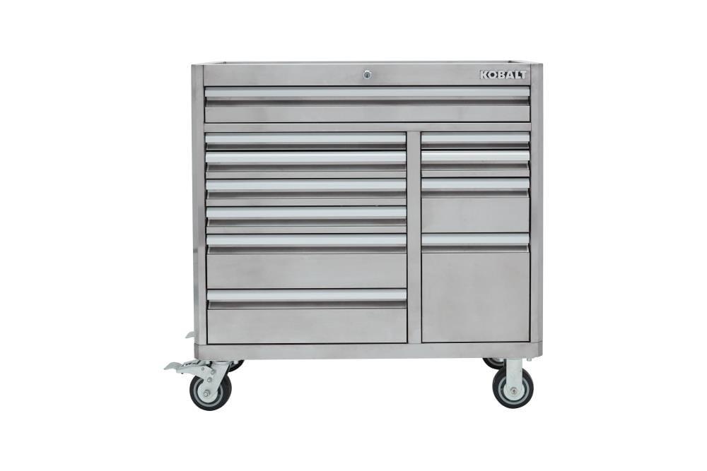Kobalt 3000 Series 41 In W X H 11, Stainless Steel Tool Cabinet