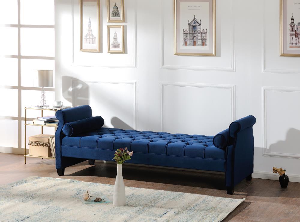 Eliza Roll Arm Sofa Bed, Jennifer Taylor Eliza Upholstered Sofa Bed
