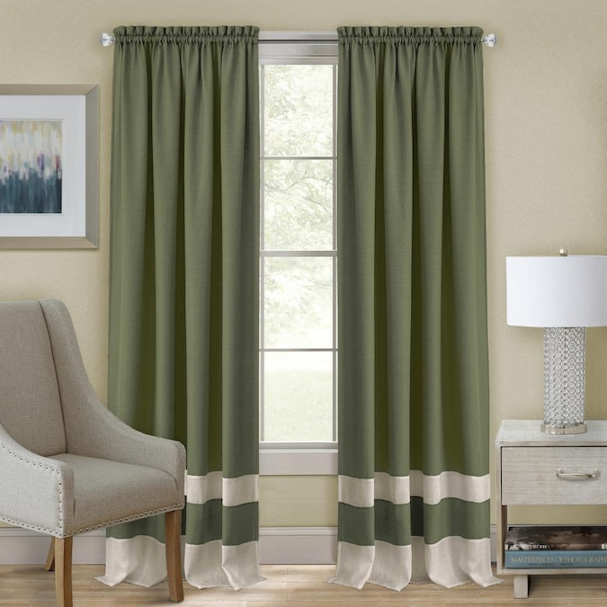 Single Curtain Panel In The Curtains, Curtain Panel Width