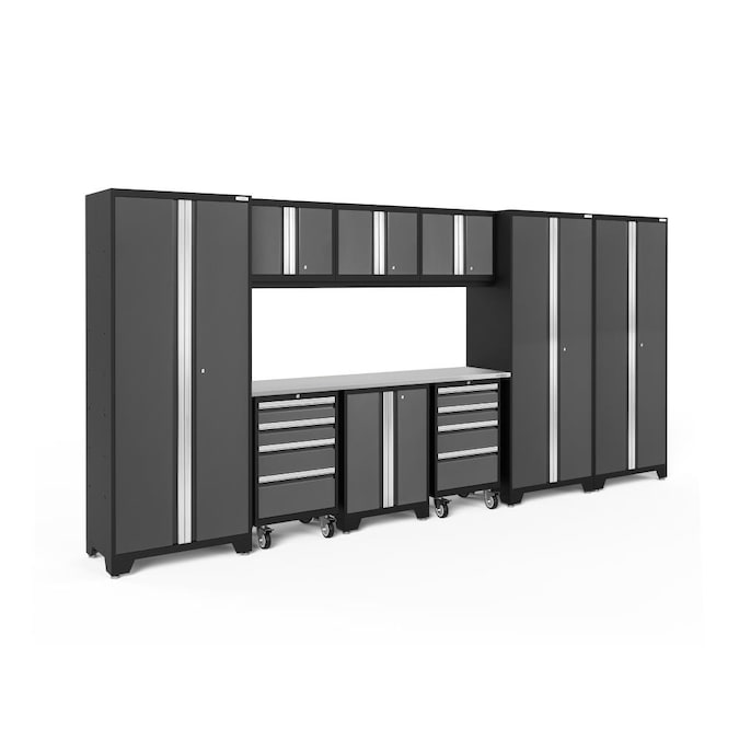 Newage S Bold Series 162 In W X, Newage Garage Cabinets Reviews
