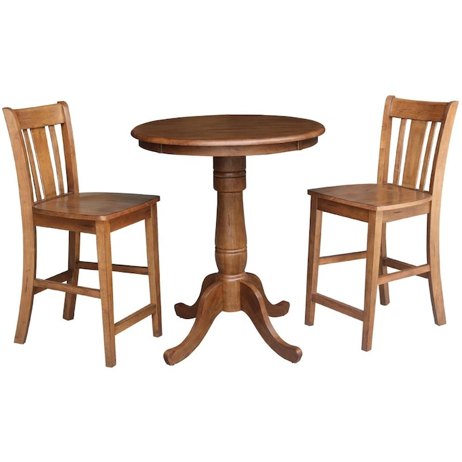 San Remo Counter Height Stools, Round Gathering Table