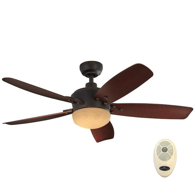 Harbor Breeze Saratoga 48 In Oil Rubbed, Ceiling Fans Outdoor With Remote