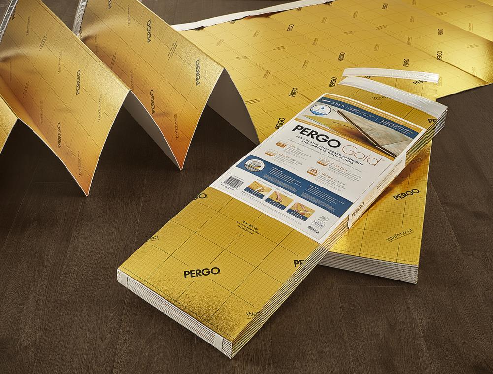 Pergo Gold 100 Sq Ft Premium 3 Mm