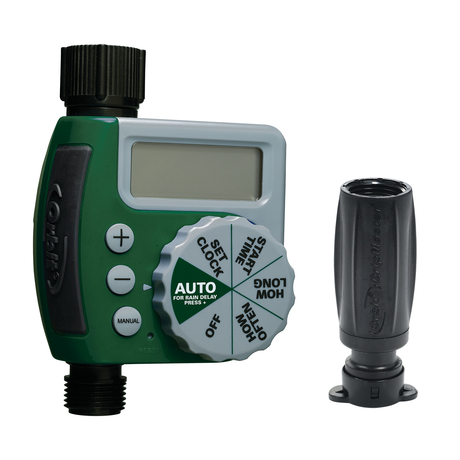 Garden Faucet Digital Irrigation Timer with Rain Delay and Manual ...