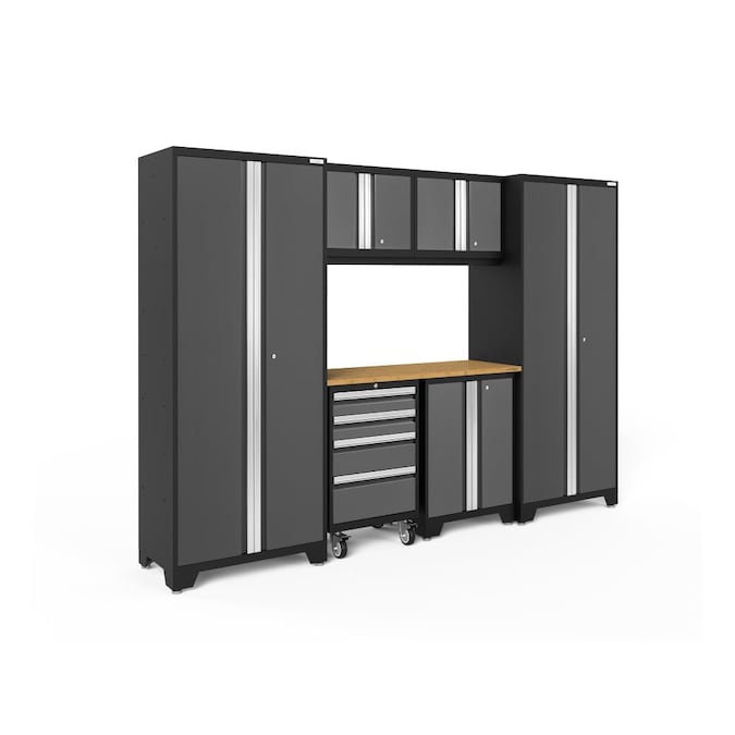 Newage S Bold Series 108 In W X, Garage Storage Wall Cabinets Home Depot