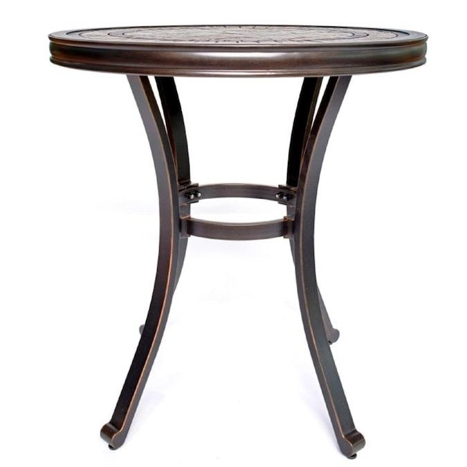 Moda Furnishings Round Outdoor Coffee, 28 Round Table