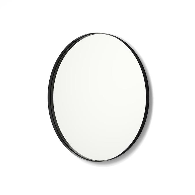 Black Round Bathroom Mirror, Black Bathroom Mirrors