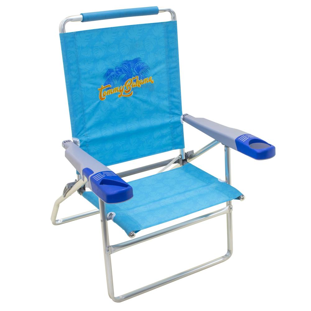 Tommy Bahama High Folding Beach Chair In The Beach Camping Chairs Department At Lowes Com