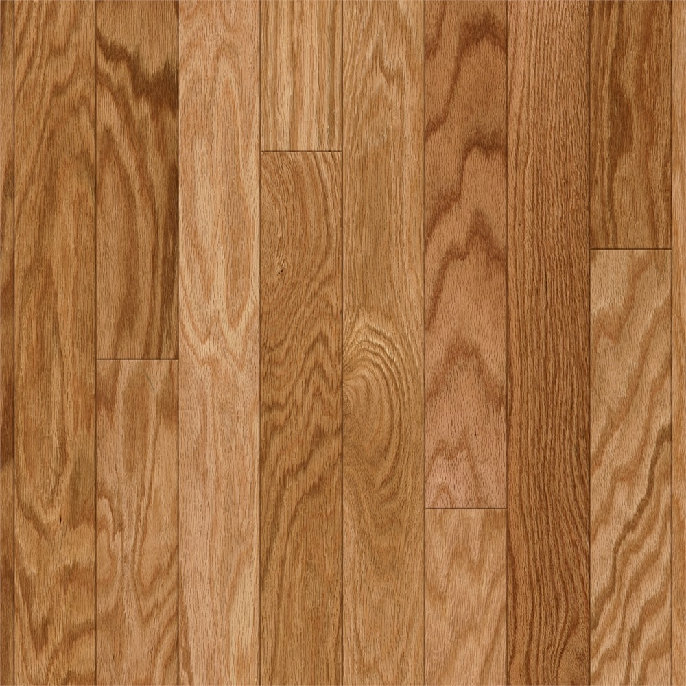 Style Selections Natural Gold Oak 3 In Wide X 8 Thick Smooth Traditional Engineered Hardwood Flooring 22 Sq Ft The Department At Lowes