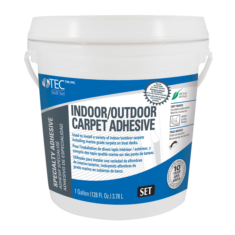 Tec Skill Set Outdoor Carpet Adh 1, How To Adhere Outdoor Carpet Concrete