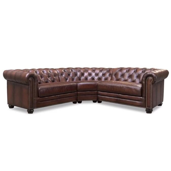 Hydeline Aliso Rustic Brown Genuine, Rustic Leather Furniture