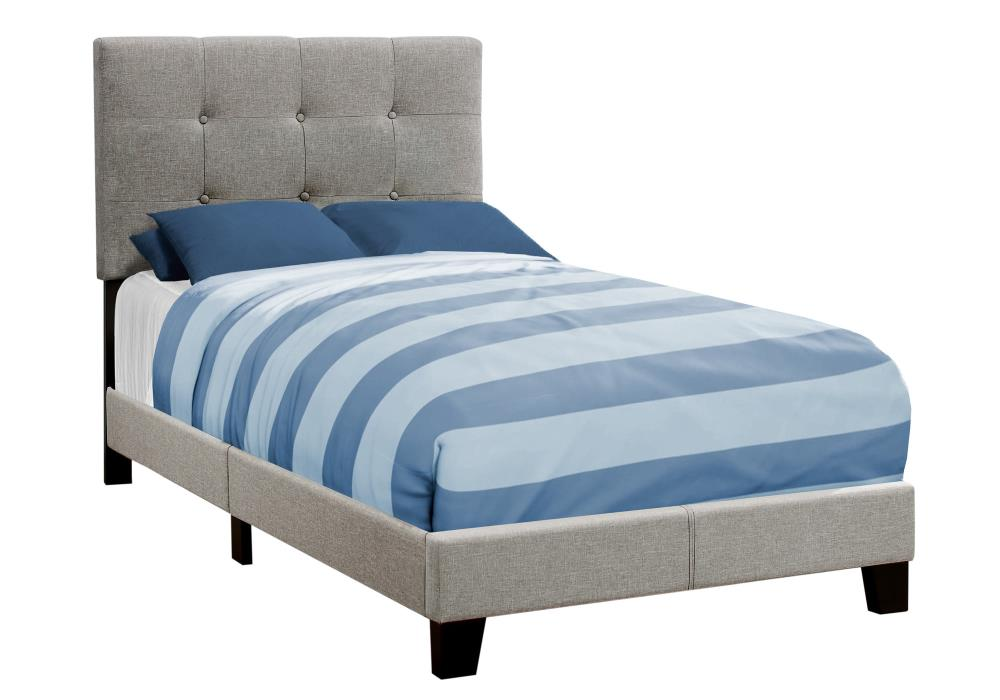 Monarch Specialties Bed Twin Size, How Large Is A Twin Bed Frame