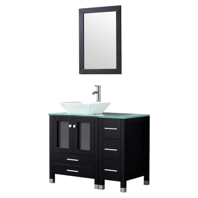 Double Sink Bathroom Vanity, How Big Should A Mirror Be For 36 Vanity