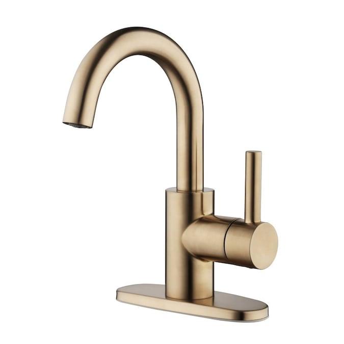 Jacuzzi Duncan Brushed Bronze 1 Handle, Bronze Faucet Bathroom