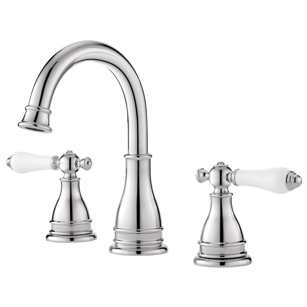 Pfister Sonterra Polished Chrome 2, Bathroom Faucets 8 Inch Spread