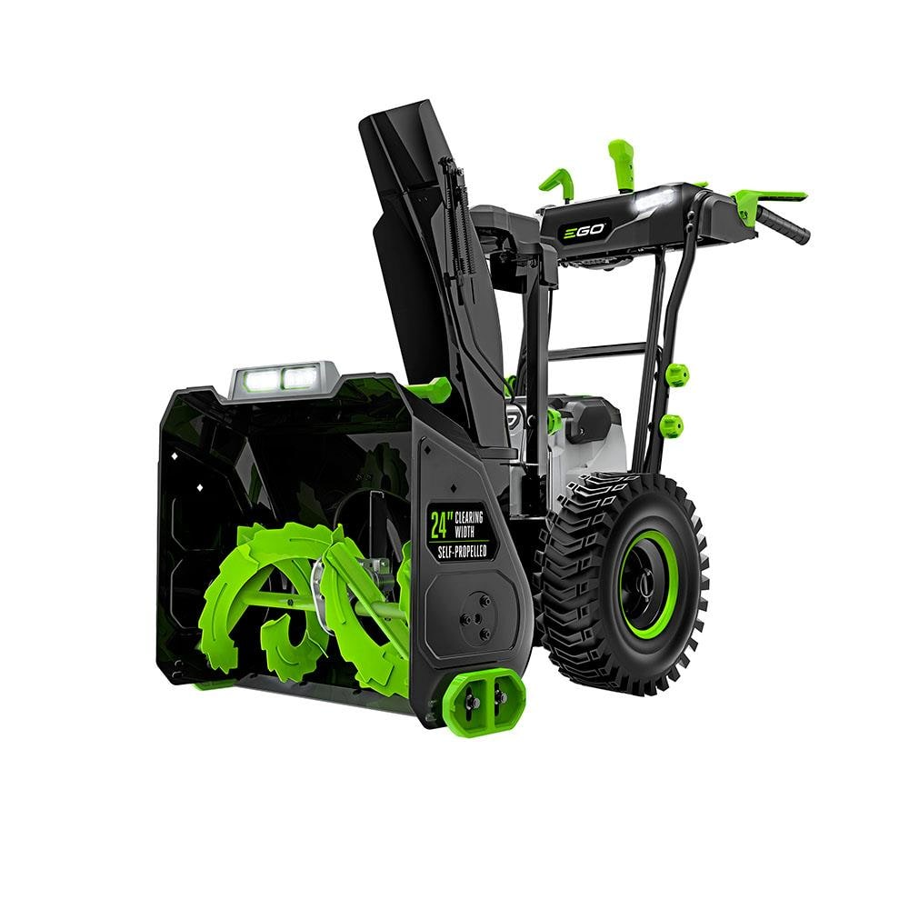 EGO POWER+ 56-volt 24-in Two-Stage Self-propelled Cordless Electric Snow Blower (2-Batteries Included) | SNT2405