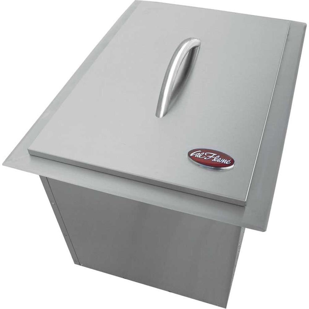 Cal Flame Modular Outdoor Kitchen Modular Ice Maker Stainless Steel   BBQ14864