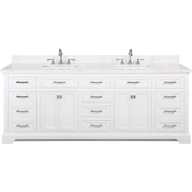 Double Sink Bathroom Vanity With, Bathroom Cabinets Double Sink