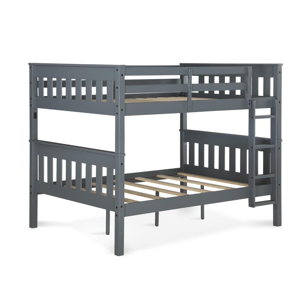 Dhp Moon Gray Full Over Full Bunk Bed In The Bunk Beds Department At Lowes Com