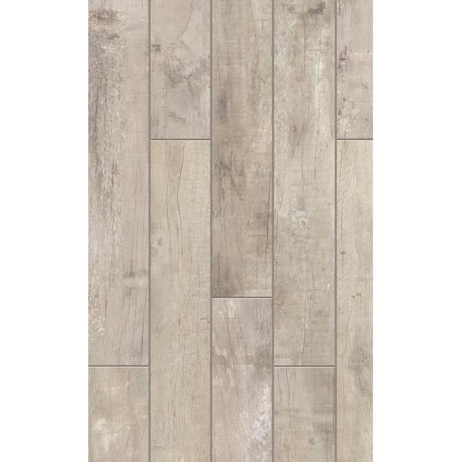 X 48 In Glazed Porcelain Wood Look