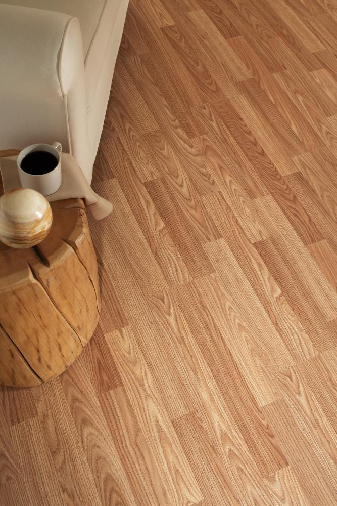 Laminate Flooring, Project Source Natural Oak Laminate Flooring