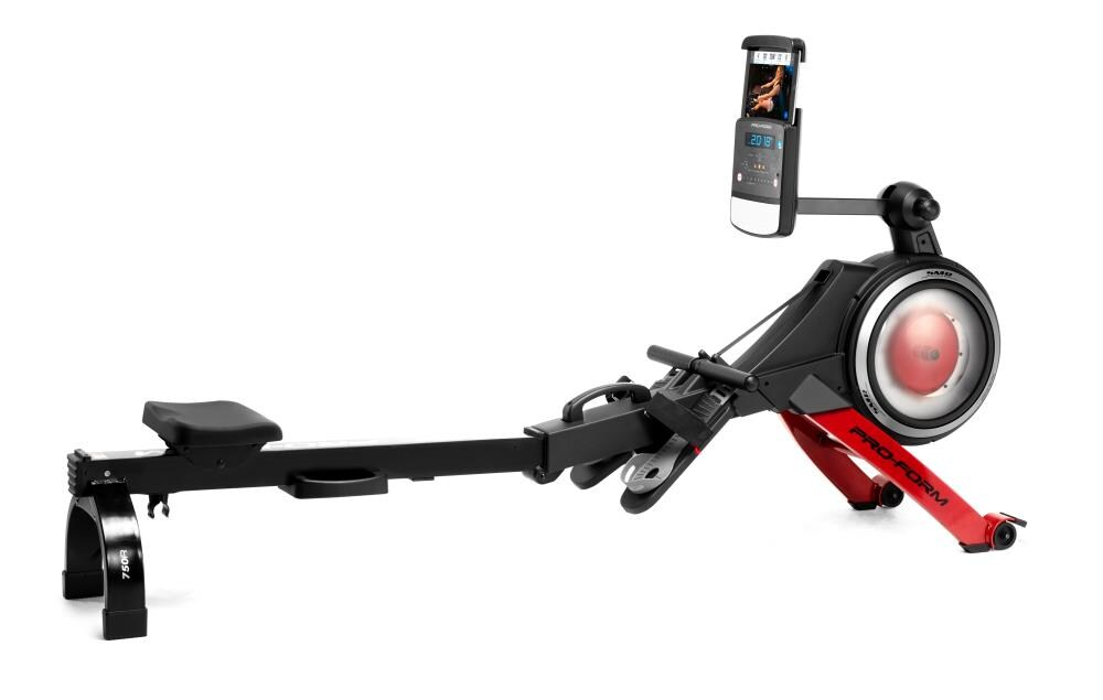 ProForm Rower HIIT Workout Rower in Black   PFRW58118