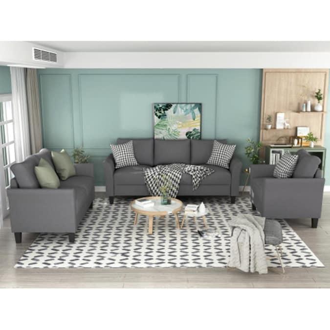 Gray Living Room Sets At Com, Grey Living Room Sets