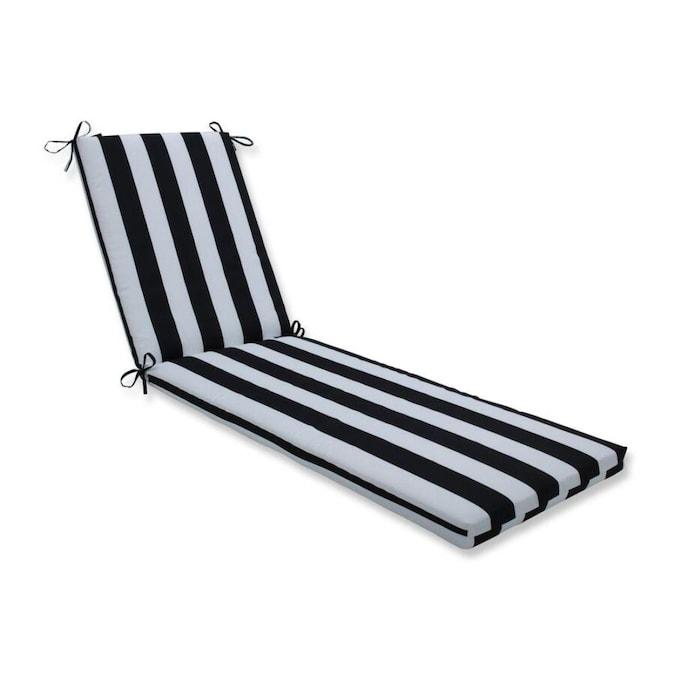 Black Patio Chaise Lounge Chair Cushion, Chaise Lounge Patio Chair Cushions