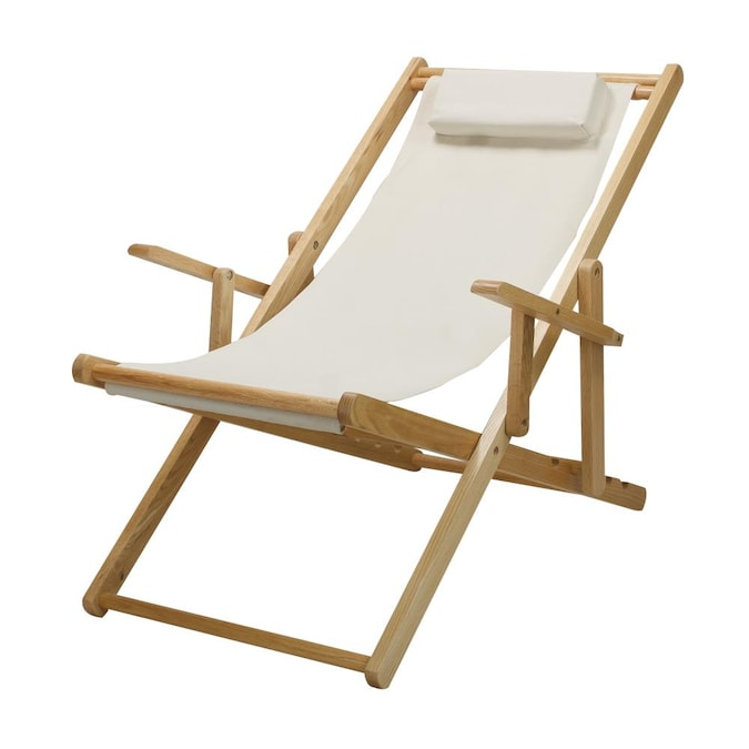 Casual Home Sling Chair Natural Maple, Sling Chair Material