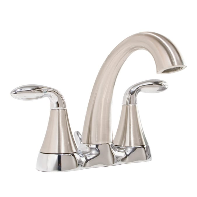 Aquasource Drp Aquasource 2h Ch Bn Lav In The Bathroom Sink Faucets Department At Lowes Com