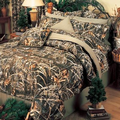 Realtree Max 4 Comforter Set Queen In, Realtree Max 5 Bedding Set