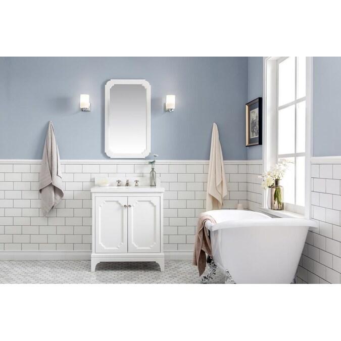 Quartz Top In The Bathroom Vanities, 30 Wide Bathroom Vanity
