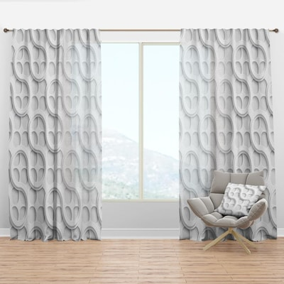 Room Darkening Thermal Lined Rod Pocket, Sheer Patterned Curtains Nz