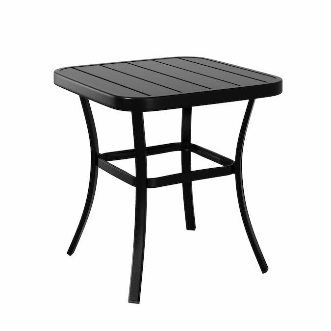 Style Selections Pelham Bay Square, Metal Patio End Tables