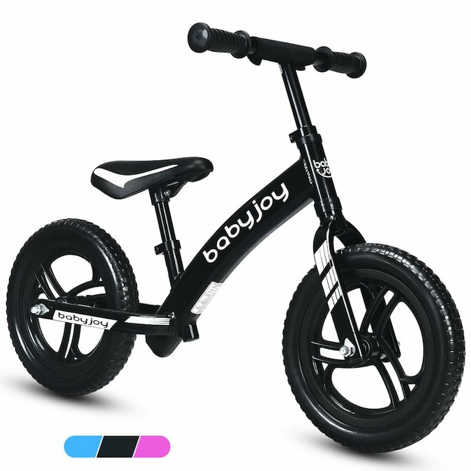 12 inch Kids Balance Bike Adjustable No-Pedal Learn To Ride Pre Bicycles